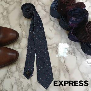 3 for $25 - NWT Express Silk Polka Dot Tie